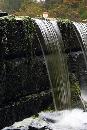 Ben Smith dam in Maynard