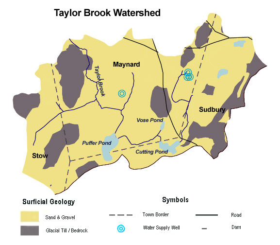 Taylor Brook Surficial Geology